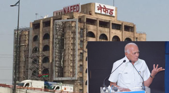 Photo of नेफेड: अध्यक्ष का भतीजा गिरफ्तार; इस्तीफे की मांग