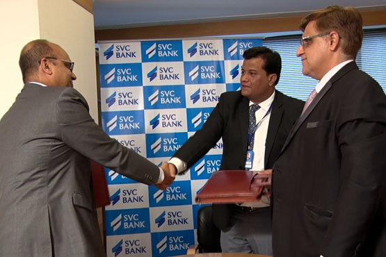 Photo of एसवीसी बैंक ने पहला ब्राउन लेबल एटीएम का किया शुभारंभ