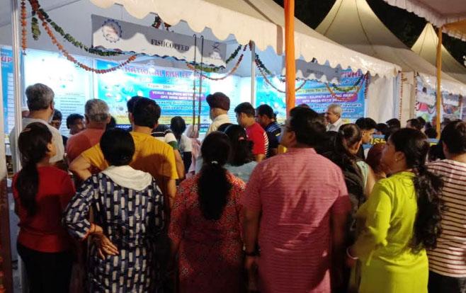 Photo of इंडिया गेट लॉन में मत्स्य उत्सव : फिशकॉपफेड ने लगाया स्टाल