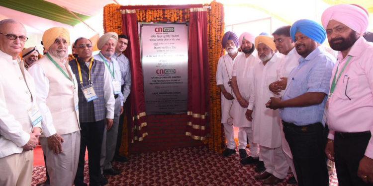 Photo of पंजाब सीएम ने रखी सीएन-इफको फूड प्रोसेसिंग प्लांट की आधारशिला