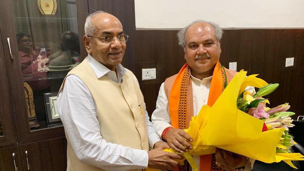 Photo of नवनियुक्त मंत्रियों को सहकारी नेताओं ने दी बधाई