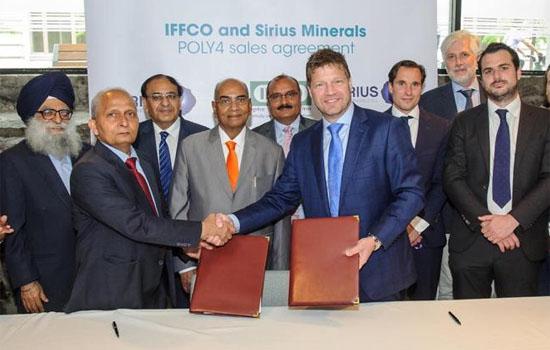 Photo of 'पॉली 4' की आपूर्ति के लिए 'सिरियस मिनरल्स' के साथ इफको का ऐतिहासिक समझौता
