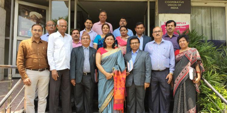 Photo of सहकारिता पाठ्यक्रम: अध्ययन के लिये नेपाली प्रतिनिधियों का भारत दौरा