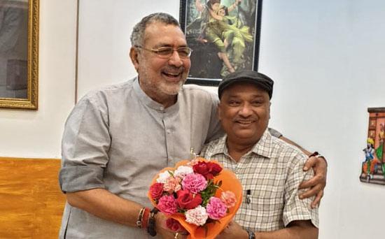 Photo of सुनील ने मोदी मंत्रिमंडल में शामिल होने पर गिरिराज को बधाई दी