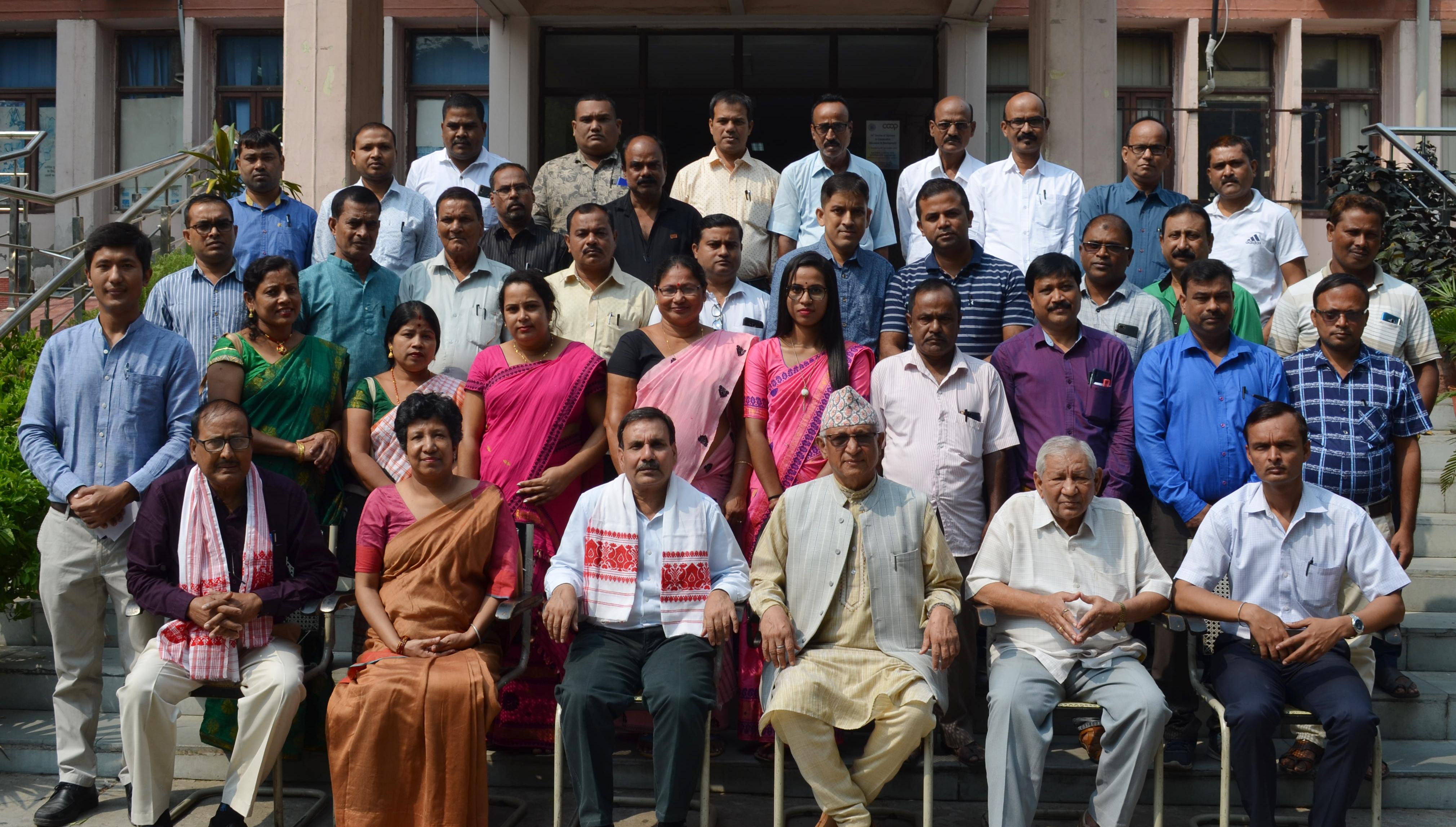 Photo of एनसीसीई ने असम के लोगों को दिया प्रशिक्षण