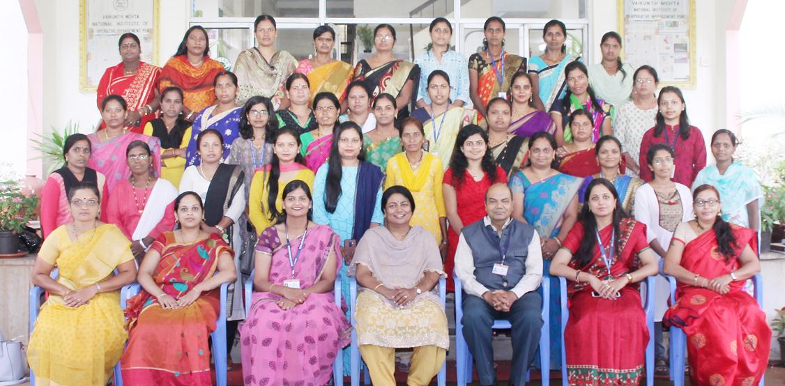 Photo of वामनिकॉम ने विकास क्षेत्र की महिलाओं को दिया प्रशिक्षण