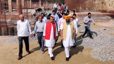 Photo of एनसीयूआई अध्यक्ष ने उत्कृष्टता केंद्र के निर्माण का किया निरीक्षण