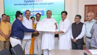 Photo of ओडिशा स्टेट को-ऑप बैंक का 5 करोड़ रुपये का योगदान