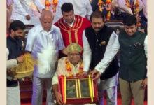 Photo of कर्नाटक सीएम ने सहकार भारती के अध्यक्ष को किया सम्मानित