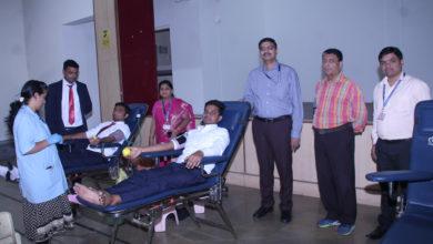 Photo of वामनिकॉम में रक्तदान शिविर का किया आयोजन