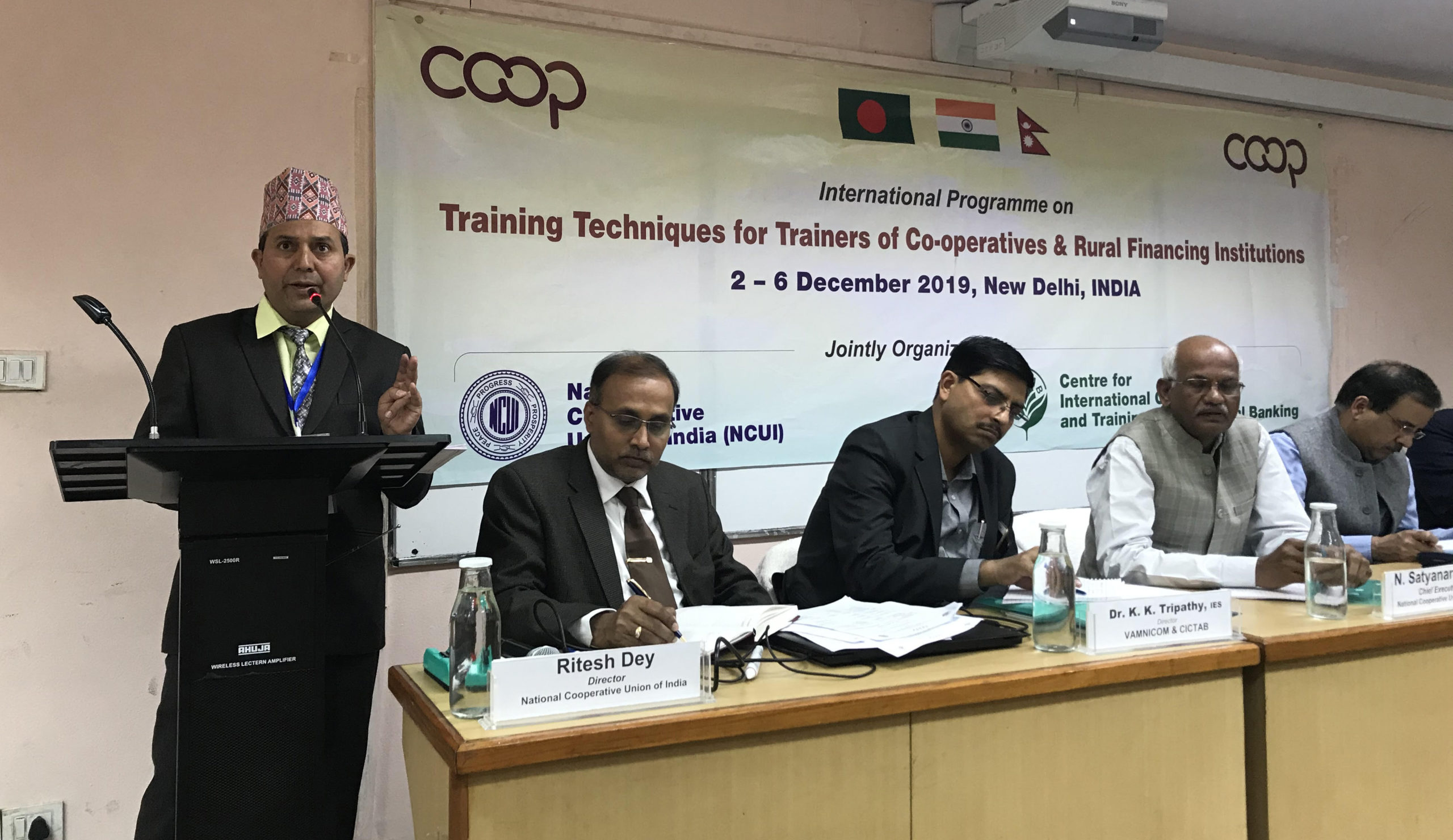 Photo of अंतर्राष्ट्रीय प्रतिभागियों ने एनसीयूआई के प्रशिक्षण मॉड्यूल की सराहना की