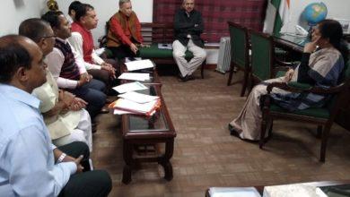 Photo of सहकार भारती की निर्मला से मुलाकात, सहकारी मुद्दों पर चर्चा
