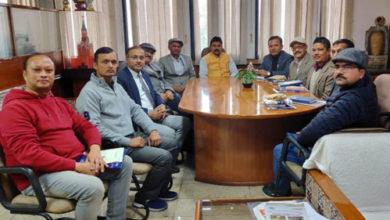 Photo of नेपाल के प्रतिनिधियों का एनसीयूआई दौरा