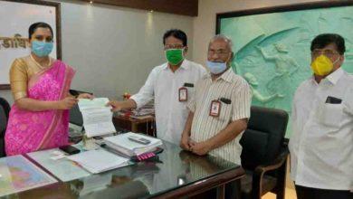 Photo of कमल नगरी सहकारी पटसंस्था ने सीएम फंड में दिये  2.19 लाख