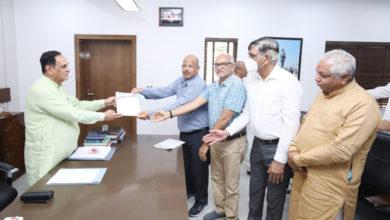 Photo of जीएससी और एडीसी बैंक ने सीएम राहत कोष में दिया योगदान