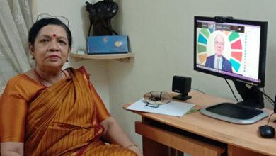 Photo of डब्ल्यूएचओ की बैठक में नंदिनी ने बताया महिलाओं को कोरोना वॉरियर्स