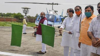 Photo of टिड्डियों से निपटने के लिये हेलीकॉप्टर तैनात